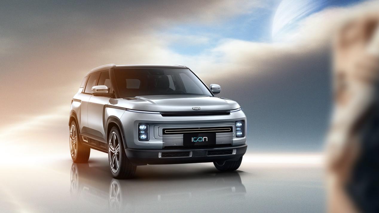 2月14日上市,吉利icon定义科技SUV新标准