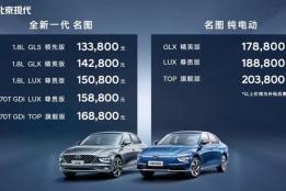 燃油+纯电动双车同步上市,名图打响北京现代2021年第一枪